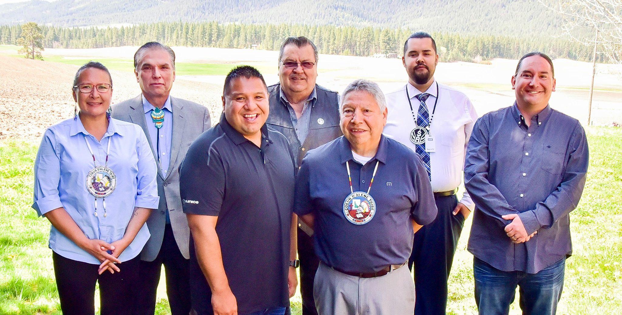 Coeur d'Alene Tribal Council for 2019